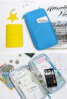 Travel Wallet Passport Holder Document Organizer Bag +Free Travel Tag