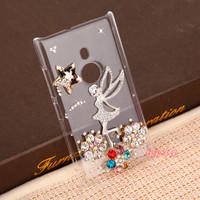 For Nokia Lumia 925 diamond mobile phone protection case - The flying girl