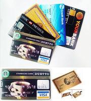 Wholesale 4GB-8GB-16GB-32GB Credit Card Model USB 2.0 Memory Stick Flash Pen Drive Thumb/Car/Gift-free shipping