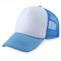 DIY travel mesh cap advertising mesh cap hand printng plain truck mesh cap team mesh cap