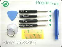 8in1 100set(800pcs)T5/T6/PH000/pentalobe screwdriver mobile phone repair tool kit Precision Manufacturing