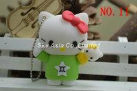 Free shipping 2g/4g/8g/16g/32g usb flash drive cartoon usb open drives kt cat hello kitty usb flash disk