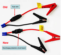 2014 new style better covered clamps overcharge protection jump starter cables perfect performance jumper leads