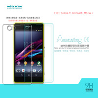 For Sony Xperia Z1 Mini Compact M51W NILLKIN Amazing H Nanometer Anti-Explosion Tempered Glass Screen Protector Film