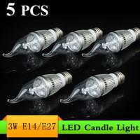 YJM-Q31E4   E14/E27 3W LED Candle Light