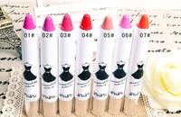 3pcs/lot Korean bubu Lipstick Pen Organic Matte Lipstick Water Proof Make Up Lip tint Professional Cosmetic Lip Balm 7colors