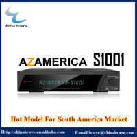 2014 brand new hot selling satellite Azamerica S1001 hd receiver for south america
