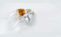 3W E14 E27 3*1W 85-265V Super Bright LED Candle Light Bulb LED Chandelier Spot Light Warm/Pure White 3pcs/lot
