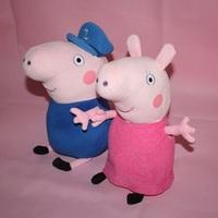 2014 brand new peppa pig grande grandma baby stuffed plush toys dolls