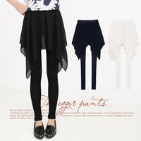 - j928 2014 spring women's slim chiffon bust skirt pants legging c-24