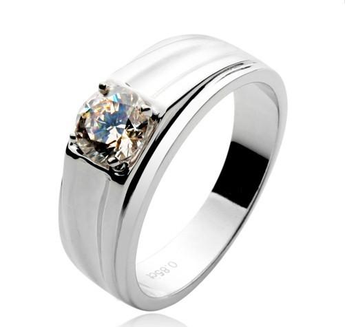 Silver Rings For Boys Xmas luxury quality man ring