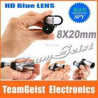 HD Red/Blue film Mini Pocket 8x20mm Zoom Monocular Telescope with refractive micro corner microscope & Night Vision Scope
