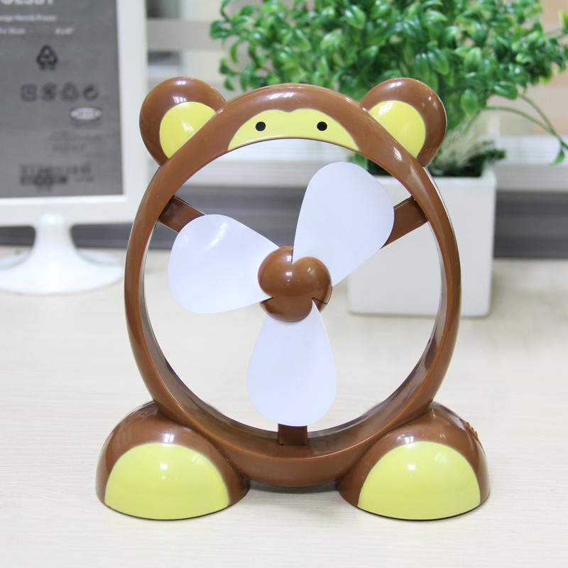 Fashion animal computer usb fan mini fan usb electric fan plastic small fan(China (Mainland))