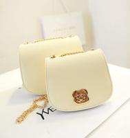 free shipping  small bags fashion mini flower chain bag shoulder bag all-match fresh elegant women's handbag