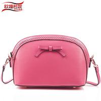 free shipping Oyrni shell bag Small women's fashion cowhide cross-body handbag  one shoulder mini bags