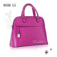 free shipping  shell bag genuine leather dual-use portable women's cross-body handbag Small mini handbag shaping bag small bag