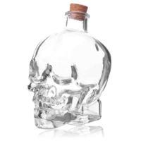 BigBaBa Skull exquisite bottle skull 410ml bottle turesday skull bottle paojiu bottle wine  CS