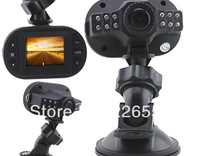 C600 720P 1.5 inch Car DVR 12 IR LED Vehicle CAM IR Night Vision video recorder Free Shipping
