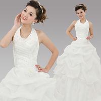 HOT Free shipping sexy wedding dress 2014 plus size princess wedding dresses bridal gown HS063