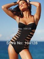 2014 one piece swimsuit women swimwear vs one piece Swimwear Sexy Shoulder Strap for Women Bandage push-up swimsuit #10
