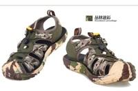 Male Women flotillas Camouflage shoes walking shoes