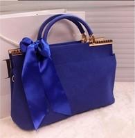 Shoulder bag female color block 2014 bags women's handbag fashion women's handbag women's bags messenger bag