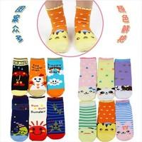 children Socks with animal cartoon Outdoor Shoes Baby Anti-slip Walking Children Sock kid's gift for 1-3 years