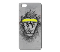 Hot Sale New Arrive Promotion cute lovely Hipster Lion Painted hard case for Iphone 4 4S 5 5s 1pcs W004