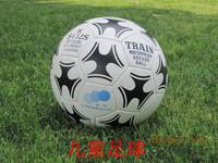 2014 Brazil World Cup 4 ball train head football ks432s PU sew-on child teenage