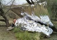 10 PCS Waterproof Emergency Survival Foil Life-saving Blanket