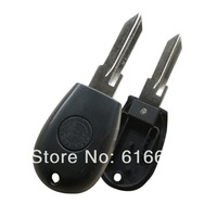 10pcs/lot  ALFA ROMEO Replacement Transponder Key Shell For 145 146 155 GTV Spider Uncut Case Fob Key Blanks GT15R Blade black