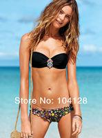 Free shipping 2014 new biquini floral bikini print bikinis set women bikini brand swimwear swimsuits for women #10