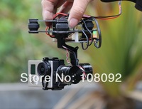 HIFLY Ready to Fly 3 Axis Gopro Brushless Gimbal FPV Stablizer Alexmos Controller  V2.4B7 Video Show