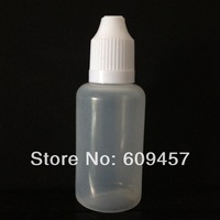 Free shipping 30ml Lot 100 Pcs Plastic Dropper Bottles with Childproof Cap&Long Thin Tip