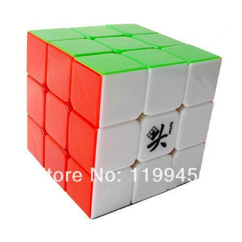 Dayan GuHong 3x3 Speed Cube 6-Color Stickerless V1(China (Mainland))