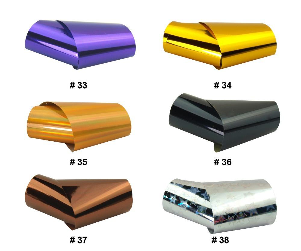 Blue sky Nail sticker supplier sell free shipping 60pcs sky nail foil(China (Mainland))