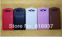 Siii flip case.Leather Flip Case cover pouch for Samsung GT-i9300 Galaxy S3 III free shipping 5pcs/lot