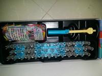 48pcs/lot Loom bands kit original 600pcs silicone bands red arrow loom DIY bracelet Twistz Bandz Free shipping colorful bands