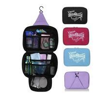 Black Red Roseo  New Orgarnizer Shaving Bag Deluxe Large Hanging Hook Travel Toiletry Kit bags