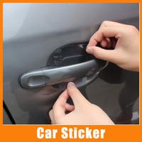 8pcs/lot Universal Invisible Car Door Handle Scratches Automobile Shakes Protective Vinyl Protector Films car Handle Protective