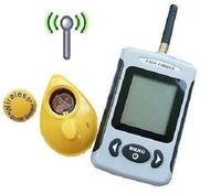 Free Shipping English Menu Wireless Portable Fishing Sonar Finder River Lake Sea Radio Echo Sounder Fish Finder