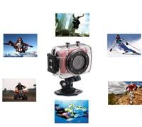 2014 Hotsales HD 720P DV Mini Waterproof Sports Camera Bike/Diving/Skiing/Skateboard Helmet Action DVR Video Camcorder