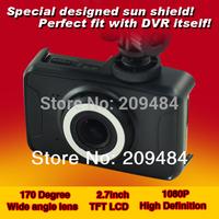 Car camera Full HD 1920x1080P (30fps) car DVR 170 view angle black box recorder 2.7inch dashboard vehicle camera night version