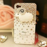 For samsung   i9128 lambling i739 rhinestone s6812 939 shell protective case i9152 outerwear s7898 2014 free shipping