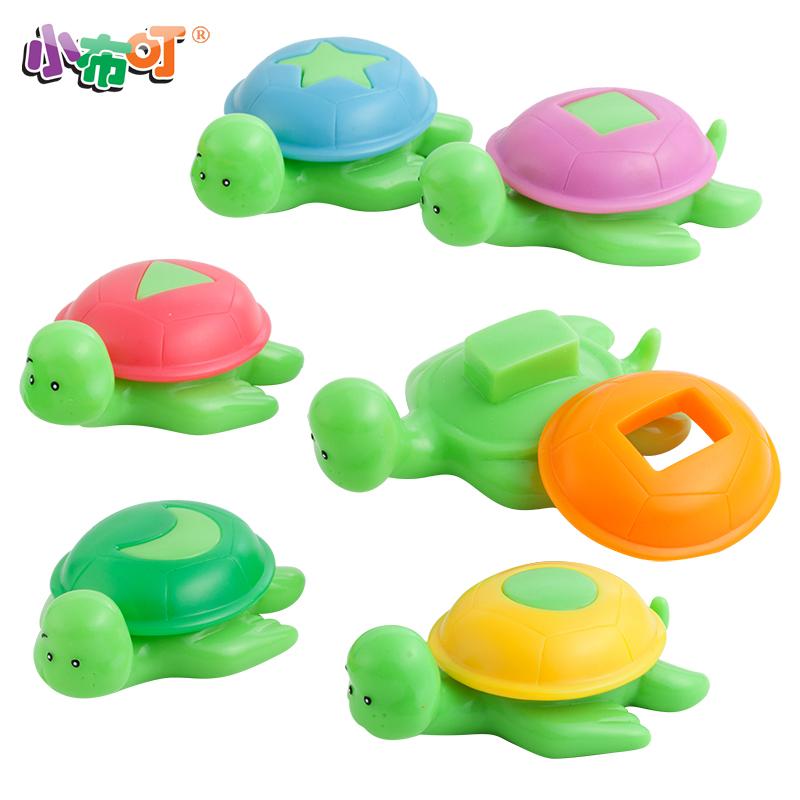 Free shippping Turtle shape 6 set baby bath toys child beach toy puzzle(China (Mainland))