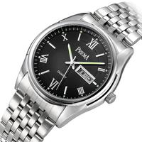 Luminous calendar watches male strip commercial men's watch strap waterproof watch ladies watch fashion lovers table