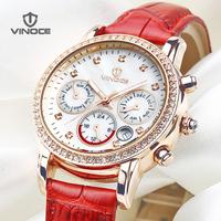 Fashion quartz watches women's strap watch female waterproof ladies watch