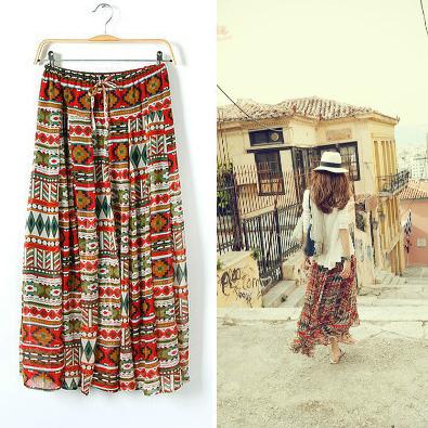 Hippie Boho Skirt Multiwear Magic Skirt | eBay