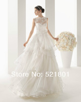 The bride wedding dress, the new 2014 lace pregnant women big yards fat mm a word shoulder wedding dress trailing 121