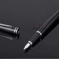 New arrival 1088 glossy black fountain pen iridic gold fountain pen shine metal fountain pen